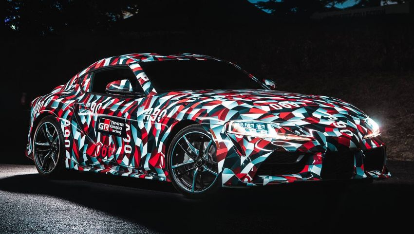 SPIED: 2019 Toyota Supra – clearer view of interior Image #839301