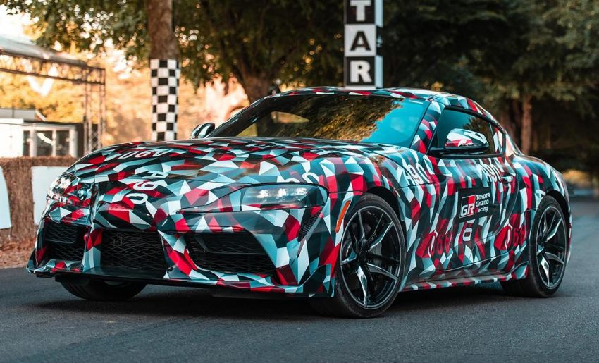 SPIED: 2019 Toyota Supra – clearer view of interior Image #839303