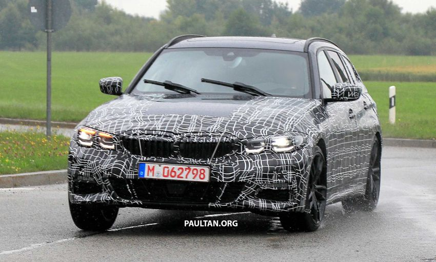 SPYSHOTS: G21 BMW 3 Series Touring spotted testing Image #833792