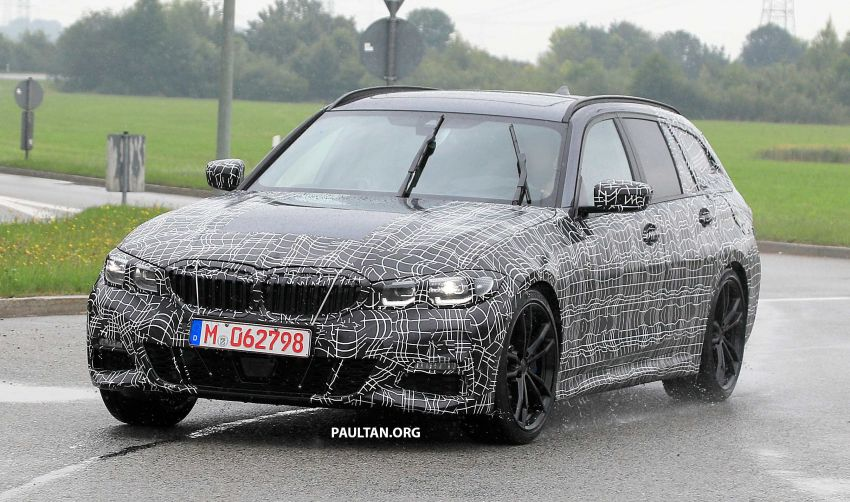 SPYSHOTS: G21 BMW 3 Series Touring spotted testing Image #833793
