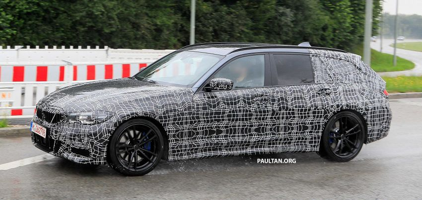 SPYSHOTS: G21 BMW 3 Series Touring spotted testing Image #833796