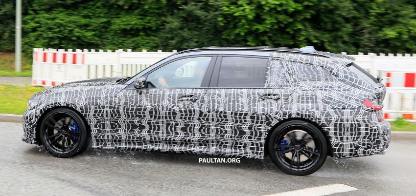SPYSHOTS: G21 BMW 3 Series Touring spotted testing Image #833798