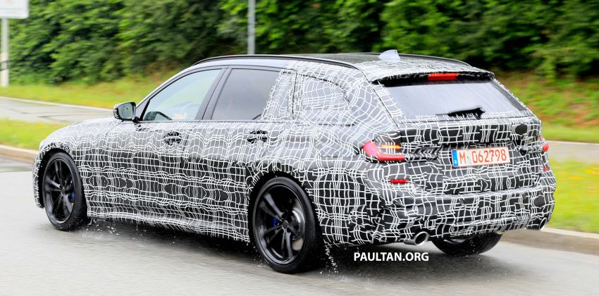 SPYSHOTS: G21 BMW 3 Series Touring spotted testing Image #833800