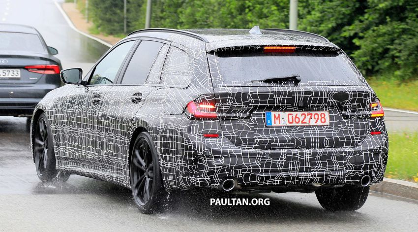 SPYSHOTS: G21 BMW 3 Series Touring spotted testing Image #833802