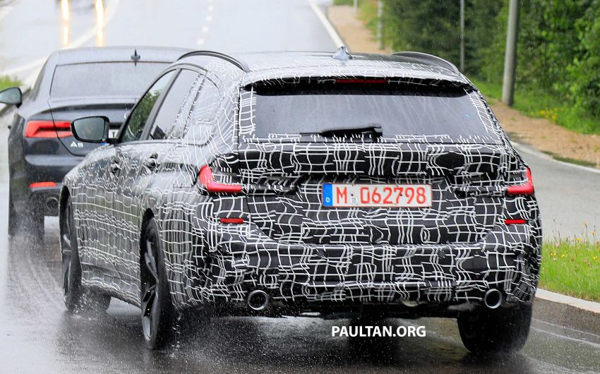 SPYSHOTS: G21 BMW 3 Series Touring spotted testing Image #833804
