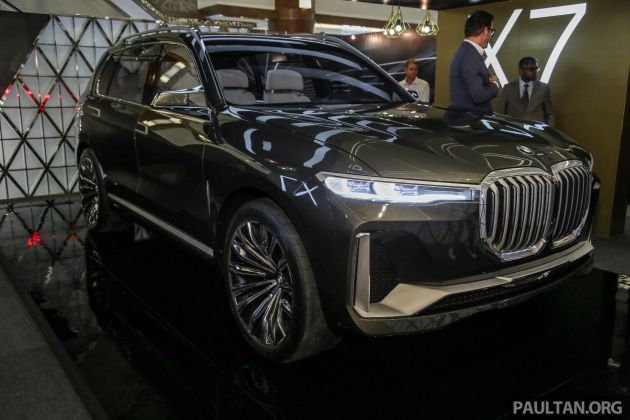 Bmw Concept X7 Iperformance Makes Sea Debut In Kl Previews Flagship