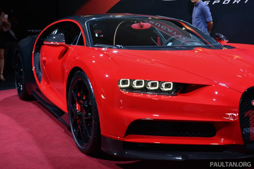 Bugatti Chiron Sport buat penampilan di Malaysia – bermula RM12 juta, tampil talaan lebih fokus untuk litar Image #835338