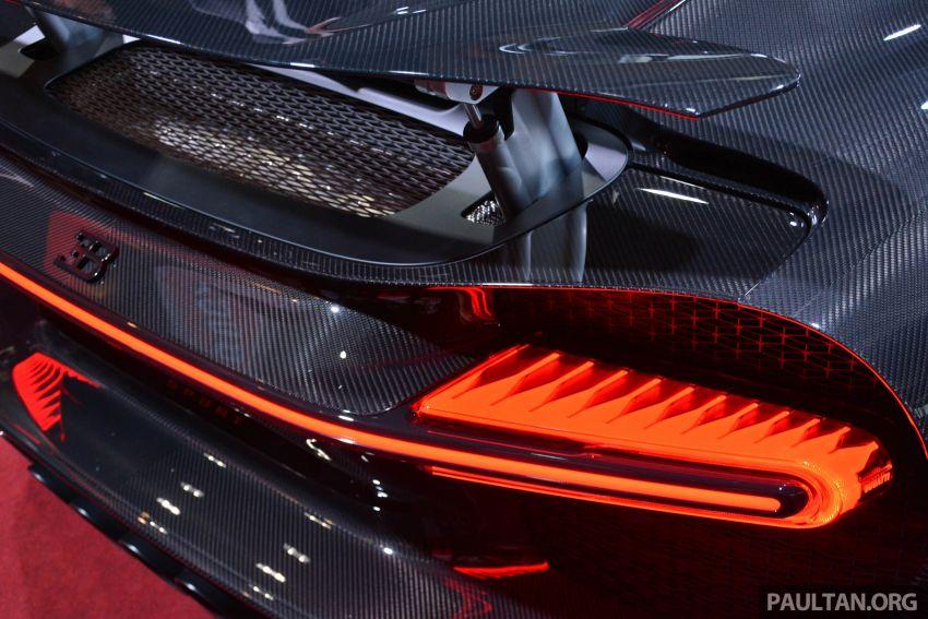 Bugatti Chiron Sport buat penampilan di Malaysia – bermula RM12 juta, tampil talaan lebih fokus untuk litar Image #835336