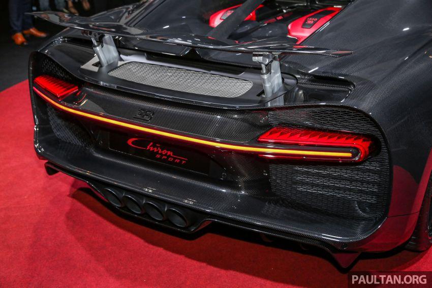 Bugatti Chiron Sport in Malaysia – from RM12.5 million Image #835388