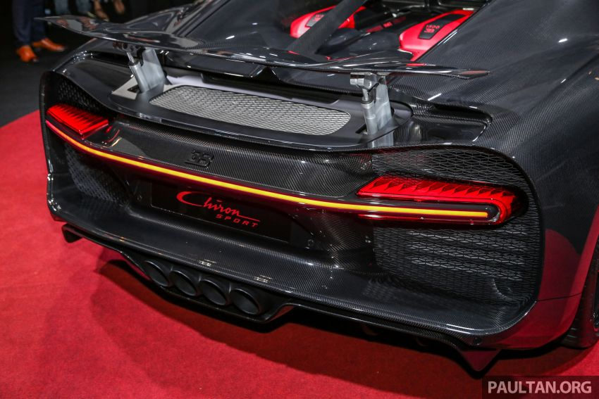 Bugatti Chiron Sport buat penampilan di Malaysia – bermula RM12 juta, tampil talaan lebih fokus untuk litar Image #835473
