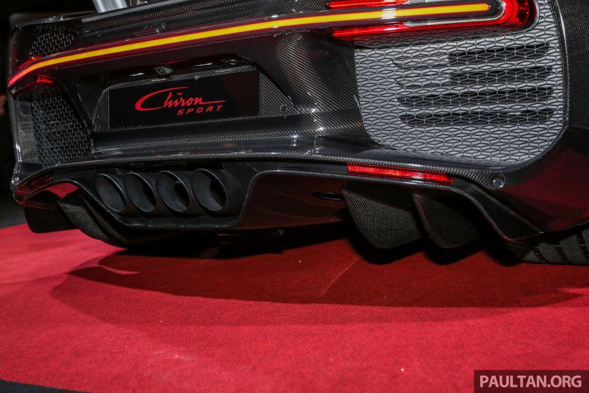 Bugatti Chiron Sport buat penampilan di Malaysia – bermula RM12 juta, tampil talaan lebih fokus untuk litar Image #835478
