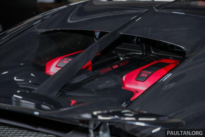 Bugatti Chiron Sport buat penampilan di Malaysia – bermula RM12 juta, tampil talaan lebih fokus untuk litar Image #835483
