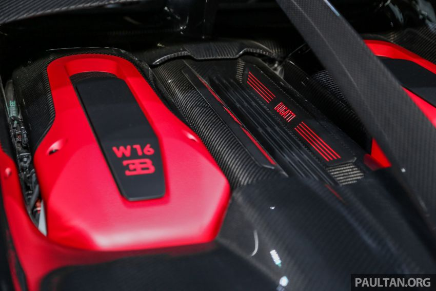 Bugatti Chiron Sport buat penampilan di Malaysia – bermula RM12 juta, tampil talaan lebih fokus untuk litar Image #835485