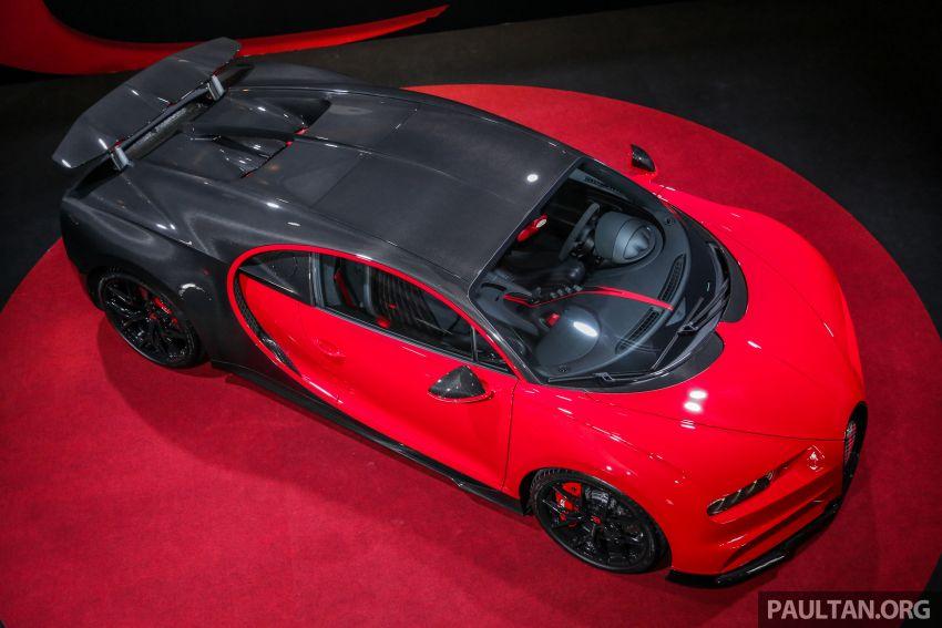 Bugatti Chiron Sport buat penampilan di Malaysia – bermula RM12 juta, tampil talaan lebih fokus untuk litar Image #835456