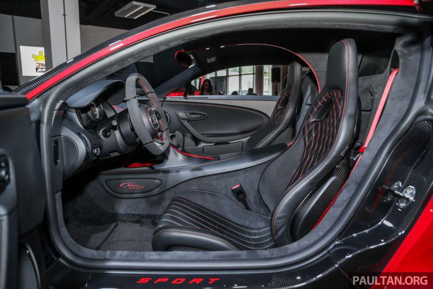 Bugatti Chiron Sport buat penampilan di Malaysia – bermula RM12 juta, tampil talaan lebih fokus untuk litar Image #835499