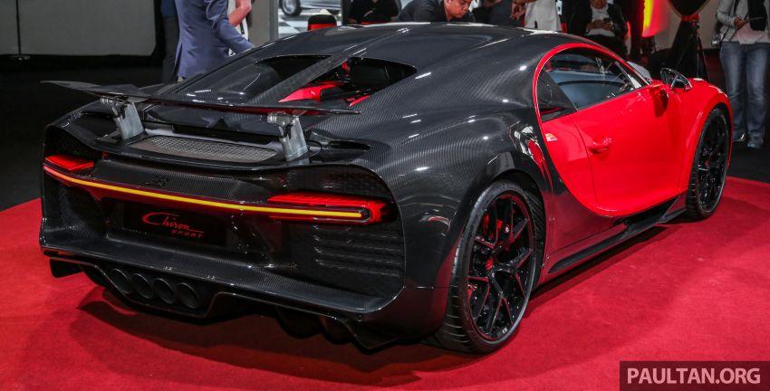 Bugatti Chiron Sport buat penampilan di Malaysia – bermula RM12 juta, tampil talaan lebih fokus untuk litar Image #835457