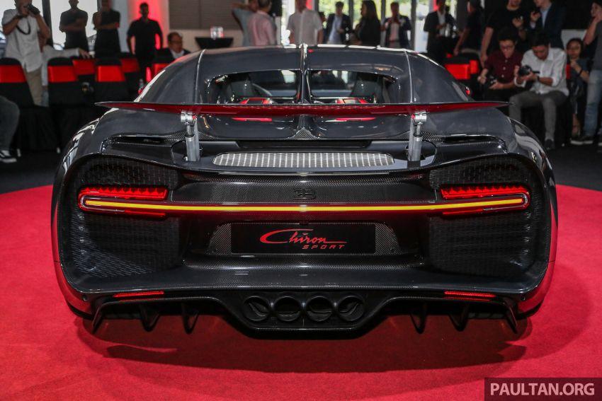 Bugatti Chiron Sport buat penampilan di Malaysia – bermula RM12 juta, tampil talaan lebih fokus untuk litar Image #835459
