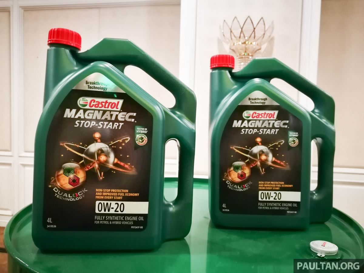 Castrol Launches Magnatec Lubricant With Dualock Technology Stop Start 5w 30 Developed For Traffic
