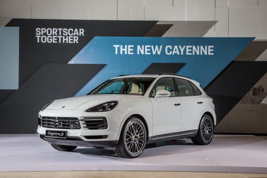 E3 Porsche Cayenne launched in Malaysia – base and S variants available, prices start from RM745,000 Image #836990