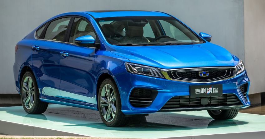 Geely Binrui – first photos revealed, based on BMA Image #845254