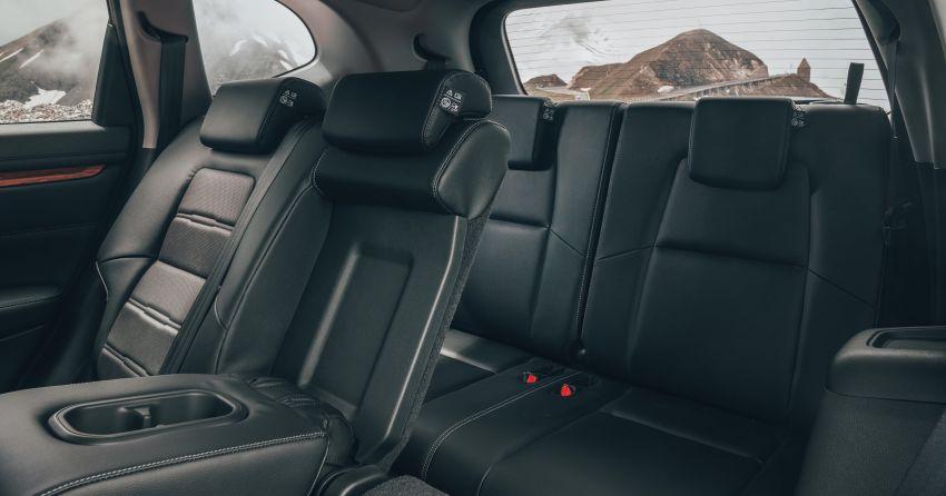 Honda CR-V di Eropah dapat pilihan tujuh tempat duduk, transmisi manual bagi padanan enjin 1.5L turbo Image #840362