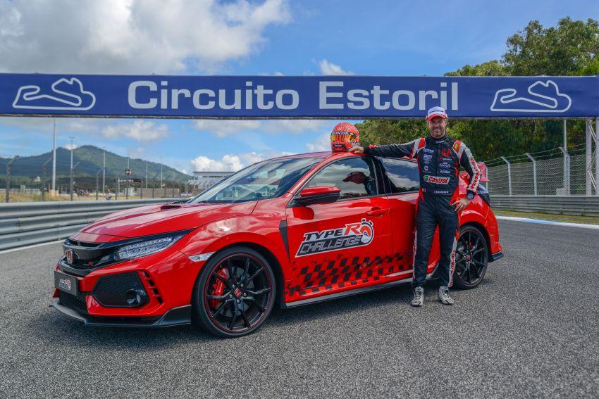 FK8 Honda Civic Type R breaks FWD record at Estoril Image #842292