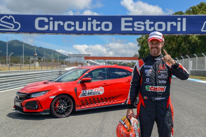 FK8 Honda Civic Type R breaks FWD record at Estoril Image #842293