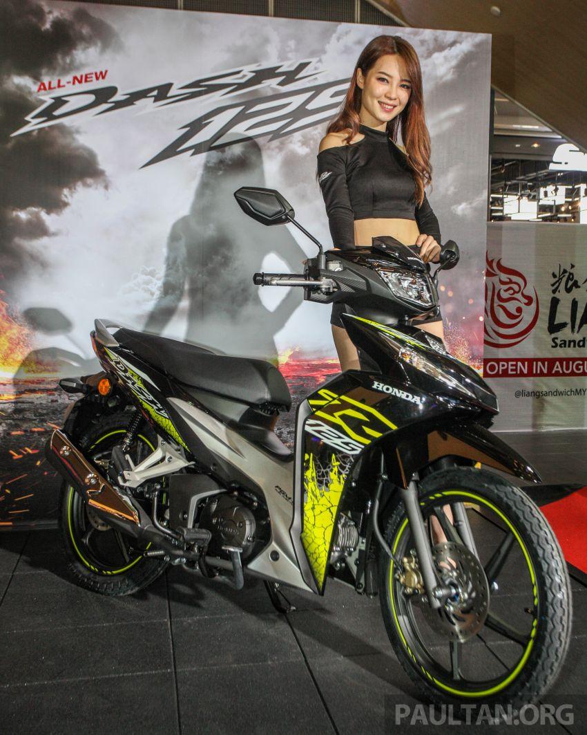 Honda Dash 125 dilancar di M'sia – harga dari RM6k Image #839396