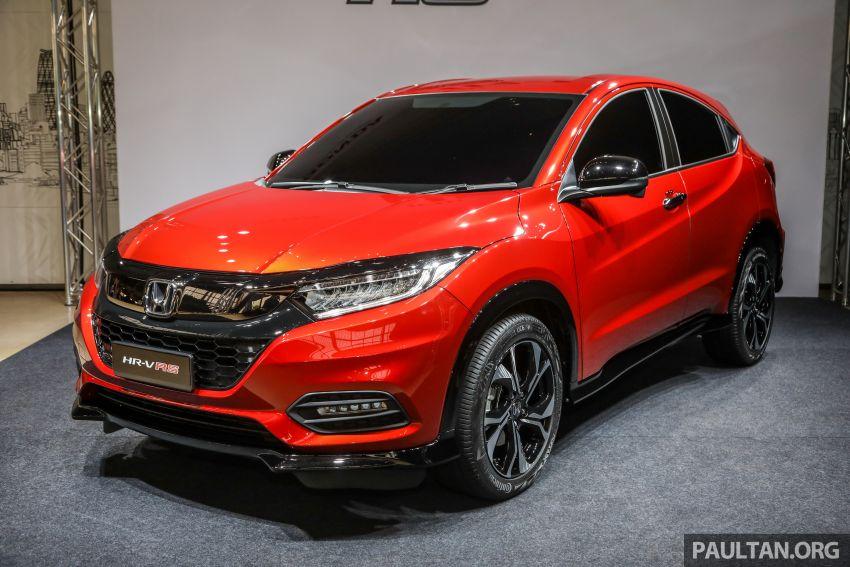Honda HR-V facelift 2018 mula dibuka tempahan di Malaysia – varian RS, roda 18-inci, kit dan ciri baharu Image #838128