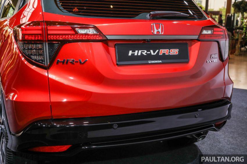 Honda HR-V facelift 2018 mula dibuka tempahan di Malaysia – varian RS, roda 18-inci, kit dan ciri baharu Image #838146