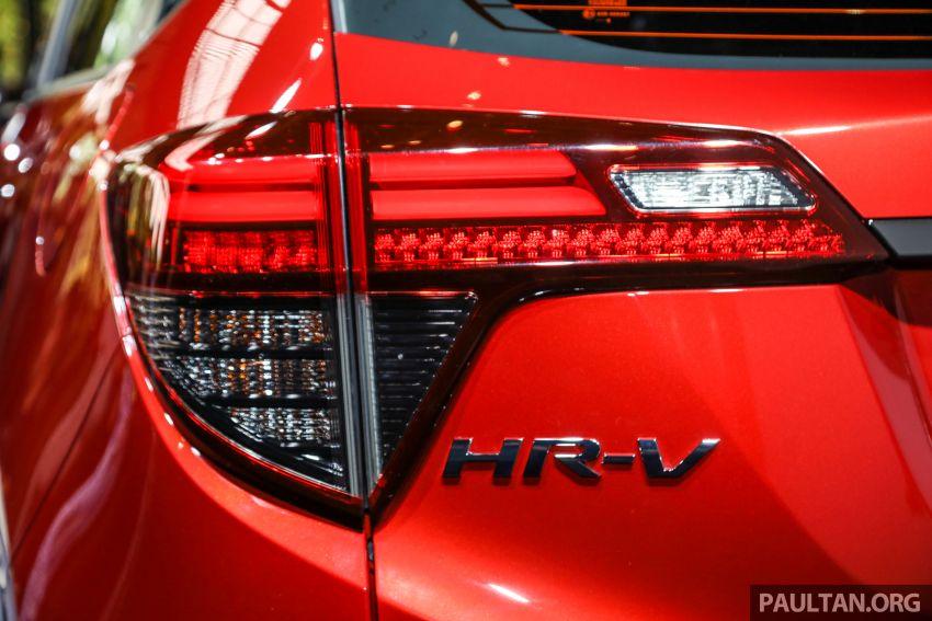 Honda HR-V facelift 2018 mula dibuka tempahan di Malaysia – varian RS, roda 18-inci, kit dan ciri baharu Image #838147