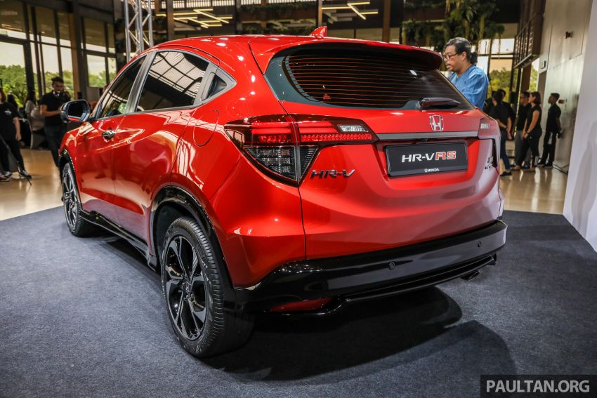 2018 Honda HR-V facelift open for booking in Malaysia – new RS variant, LaneWatch, six airbags as standard Image #838155