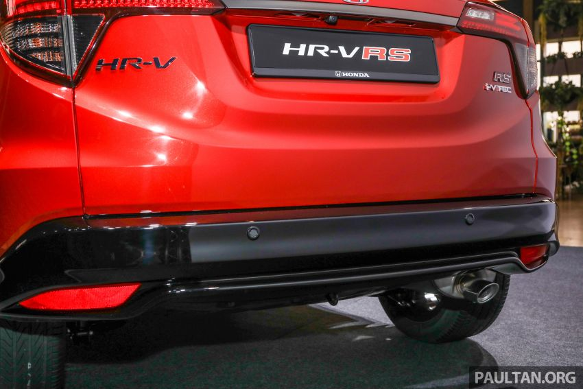 2018 Honda HR-V facelift open for booking in Malaysia – new RS variant, LaneWatch, six airbags as standard Image #838177