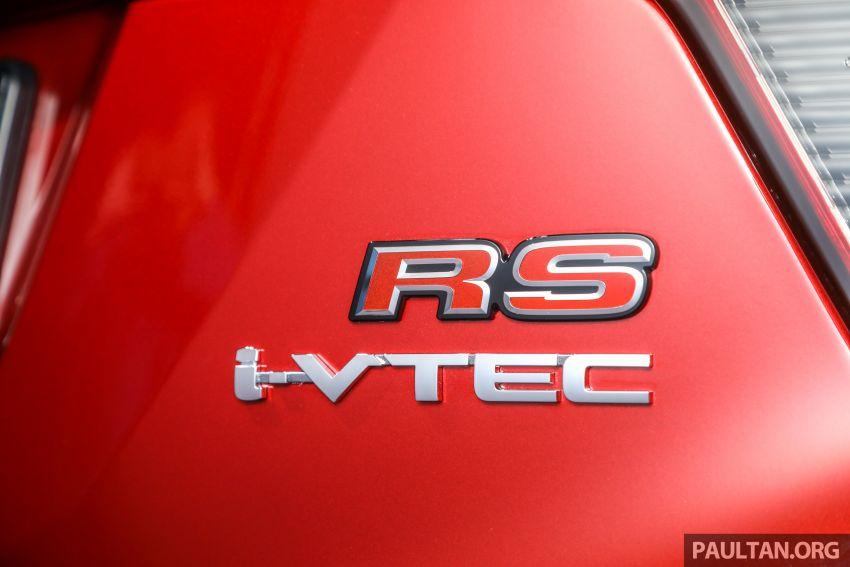 Honda HR-V facelift 2018 mula dibuka tempahan di Malaysia – varian RS, roda 18-inci, kit dan ciri baharu Image #838153