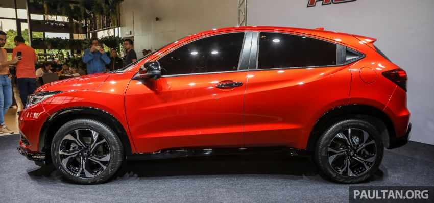 2018 Honda HR-V facelift open for booking in Malaysia – new RS variant, LaneWatch, six airbags as standard Image #838156