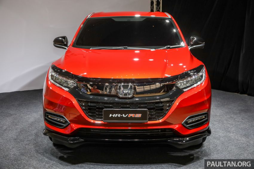 2018 Honda HR-V facelift open for booking in Malaysia – new RS variant, LaneWatch, six airbags as standard Image #838157