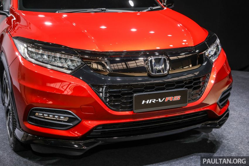 2018 Honda HR-V facelift open for booking in Malaysia – new RS variant, LaneWatch, six airbags as standard Image #838159