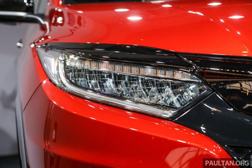 Honda HR-V facelift 2018 mula dibuka tempahan di Malaysia – varian RS, roda 18-inci, kit dan ciri baharu Image #838134