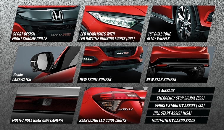 2018 Honda HR-V facelift open for booking in Malaysia – new RS variant, LaneWatch, six airbags as standard Image #838097