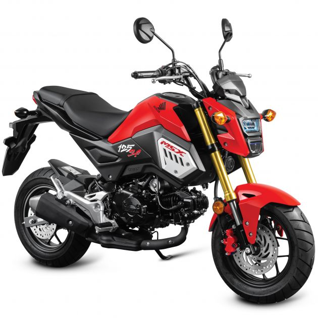 2018 honda msx 125 sf in new colours rm10 499. Black Bedroom Furniture Sets. Home Design Ideas
