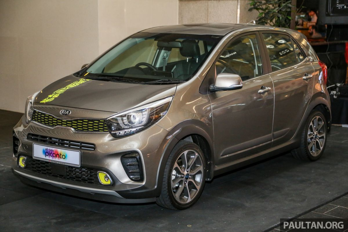 kia picanto x line seen in malaysia launching soon. Black Bedroom Furniture Sets. Home Design Ideas