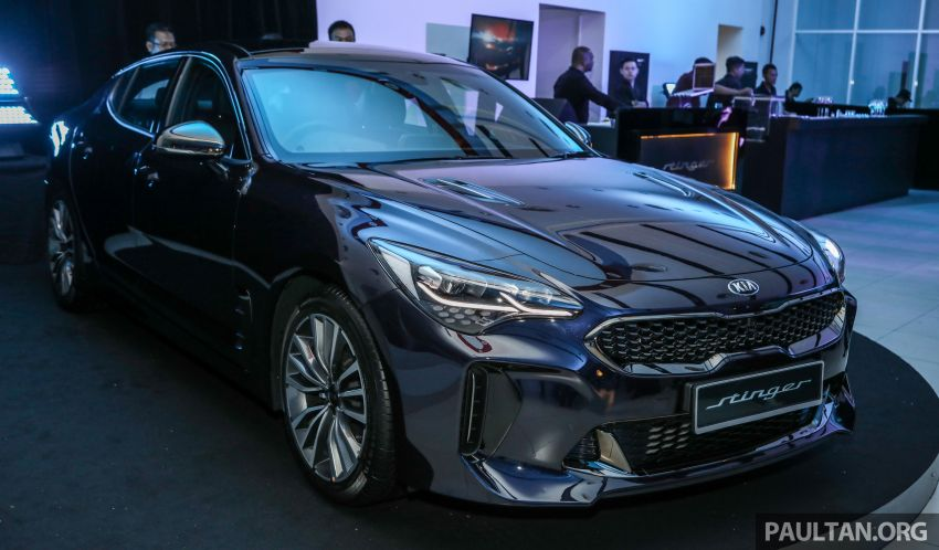 Kia Stinger launched in Malaysia – 251 hp 2.0 GT-Line and 365 hp 3.3 V6 GT, CBU, RWD, RM240k to RM310k Image #837320