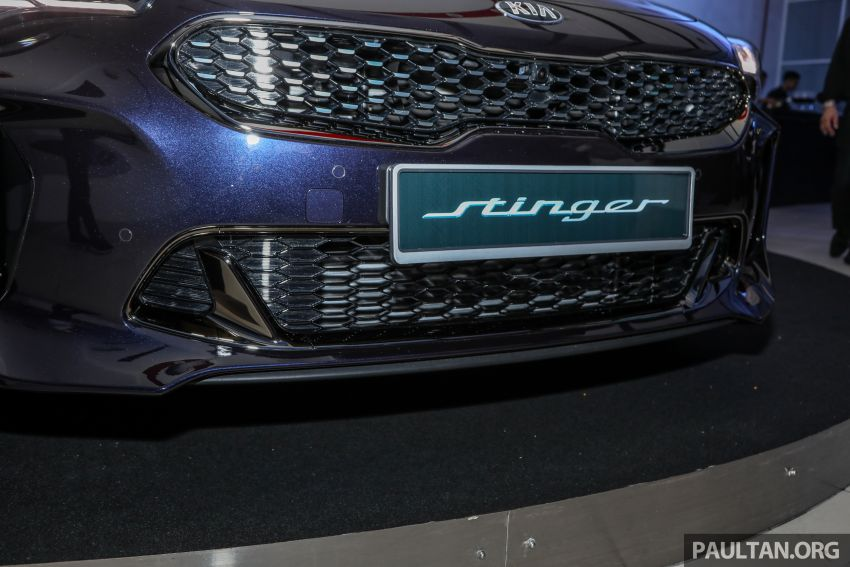 Kia Stinger launched in Malaysia – 251 hp 2.0 GT Line and 365 hp 3.3 V6 GT, CBU, RWD, RM240k to RM310k Image #837329
