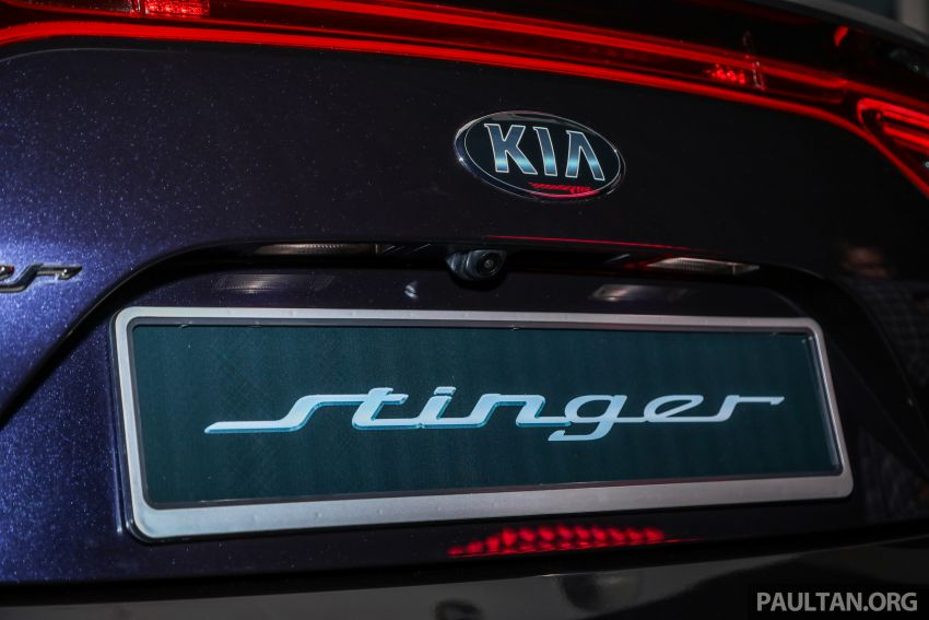 Kia Stinger launched in Malaysia – 251 hp 2.0 GT-Line and 365 hp 3.3 V6 GT, CBU, RWD, RM240k to RM310k Image #837343