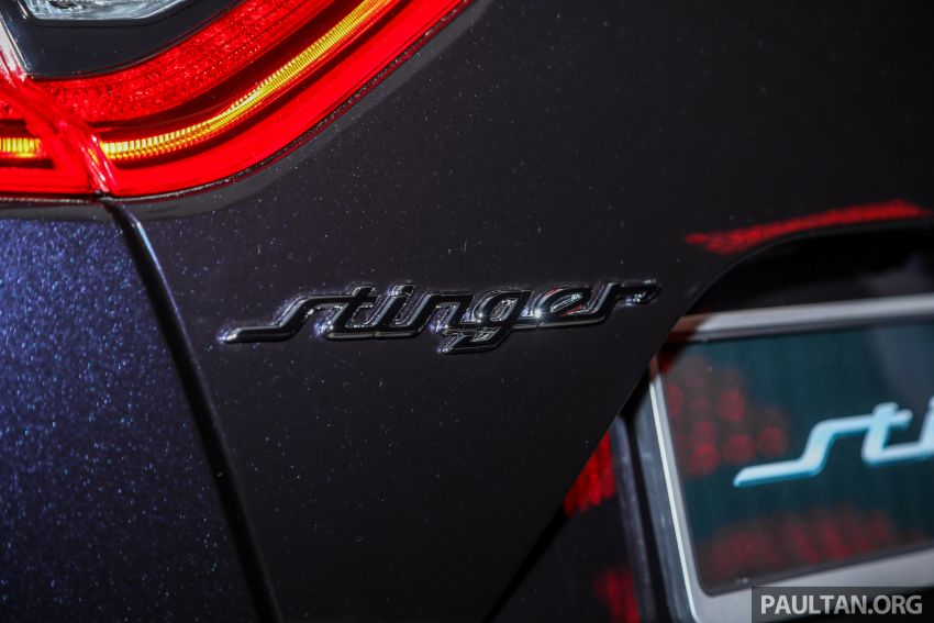 Kia Stinger launched in Malaysia – 251 hp 2.0 GT Line and 365 hp 3.3 V6 GT, CBU, RWD, RM240k to RM310k Image #837345