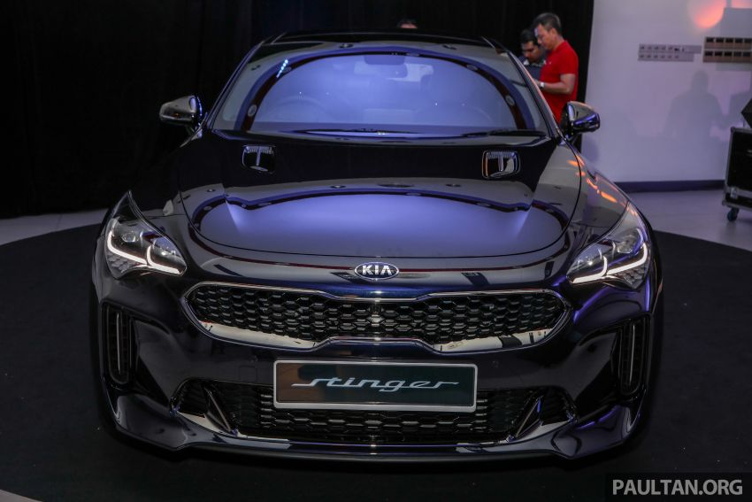 Kia Stinger launched in Malaysia – 251 hp 2.0 GT-Line and 365 hp 3.3 V6 GT, CBU, RWD, RM240k to RM310k Image #837322