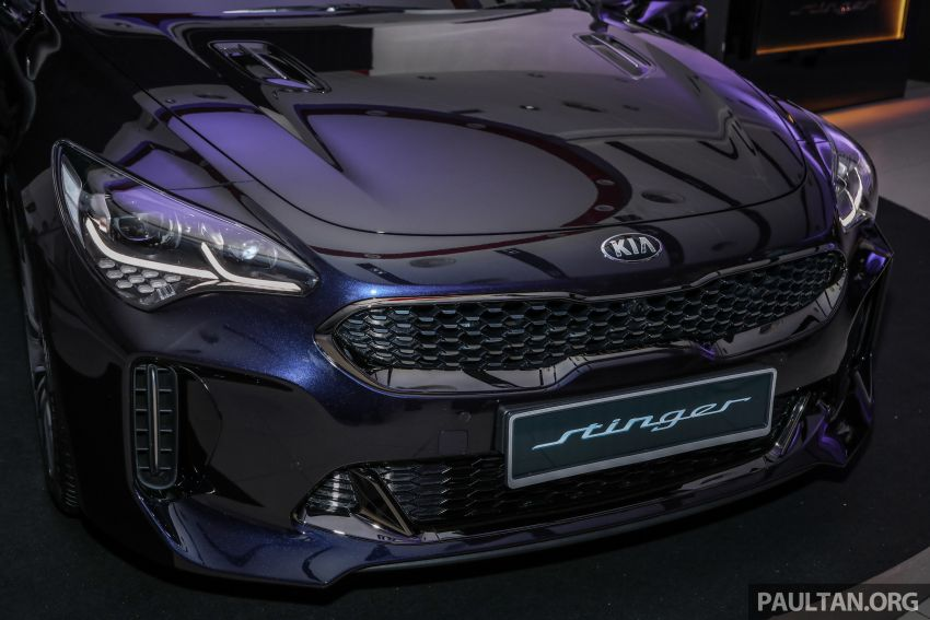 Kia Stinger launched in Malaysia – 251 hp 2.0 GT-Line and 365 hp 3.3 V6 GT, CBU, RWD, RM240k to RM310k Image #837325