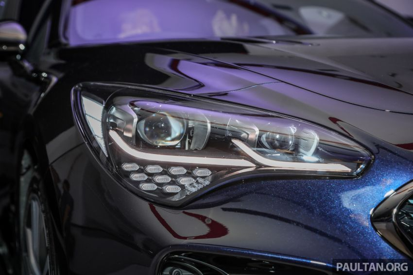 Kia Stinger launched in Malaysia – 251 hp 2.0 GT Line and 365 hp 3.3 V6 GT, CBU, RWD, RM240k to RM310k Image #837326