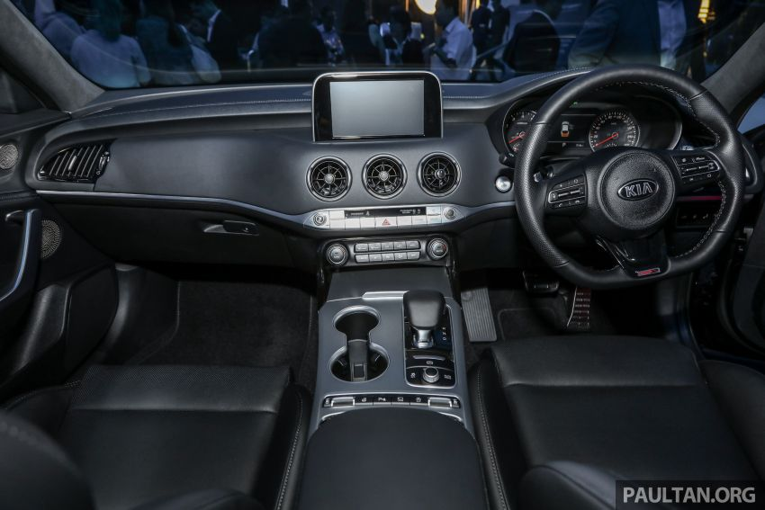 Kia Stinger launched in Malaysia – 251 hp 2.0 GT Line and 365 hp 3.3 V6 GT, CBU, RWD, RM240k to RM310k Image #837349