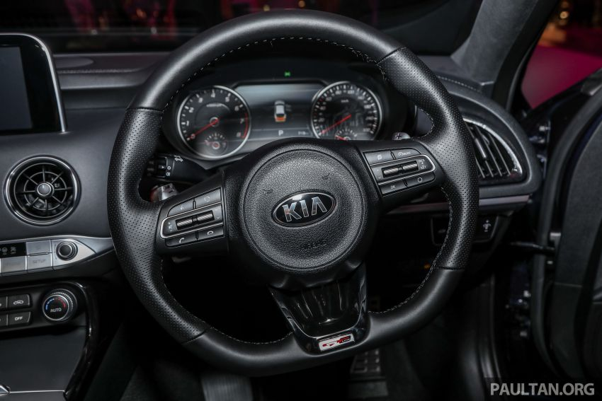 Kia Stinger launched in Malaysia – 251 hp 2.0 GT Line and 365 hp 3.3 V6 GT, CBU, RWD, RM240k to RM310k Image #837350